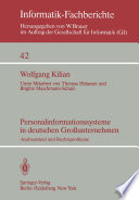 Personalinformationssysteme in deutschen Großunternehmen