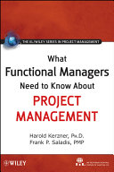 What Functional Managers Need To Know About Project Management : ...