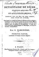 Nouveau dictionnaire de poche, français-anglais et anglais-français