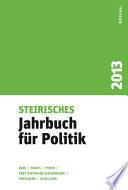 Steirisches Jahrbuch f  r Politik 2013