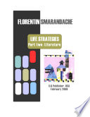 Life Strategies (draft), Part two: Literature
