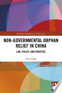 Non Governmental Orphan Relief In China