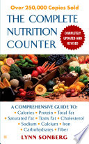 The Complete Nutrition Counter Revised