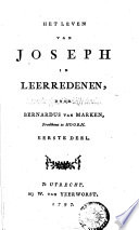 Het Leven Van Joseph In Leerredenen