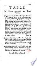 Recueil général des pièces contenues au procez du Pere Jean-Baptiste Girard, Jésuite... et de Demoiselle Catherine Cadière,...