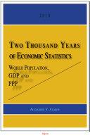 Two Thousand Years of Economic Statistics