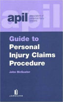 APIL Guide to Personal Injury Claims Procedures