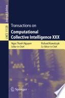 Transactions On Computational Collective Intelligence Xxx