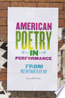 American Poetry in Performance