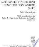Automated Fingerprint Identification Systems  AFIS