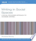 Writing in Social Spaces