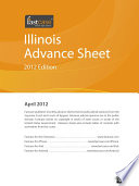 Illinois Advance Sheet April 2012
