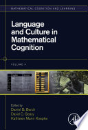 Language And Culture In Mathematical Cognition book