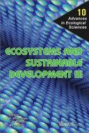 Ecosystems and sustainable development III