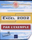 Excel 2002  avec CD ROM