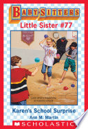 download ebook karen's school surprise (baby-sitters little sister #77) pdf epub