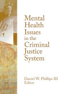 download ebook mental health issues in the criminal justice system pdf epub