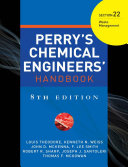 PERRY S CHEMICAL ENGINEER S HANDBOOK 8 E SECTION 22 WASTE MANAGEMENT  POD