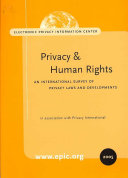 Privacy and Human Rights 2005
