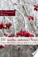 illustration 230 recettes automne/hiver