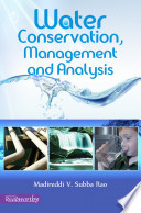 Water Conservation  Management and Analysis