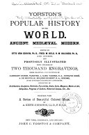 Yorston s Popular History of the World