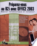 Préparez-vous au B2i avec Office 2003