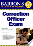 Barron s Correction Officer Exam  3rd Ed