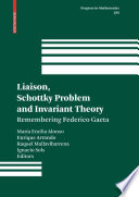 Liaison  Schottky Problem and Invariant Theory