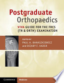 Postgraduate Orthopaedics : oral part of the frcs (tr &...