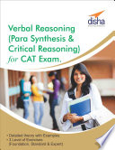Verbal Reasoning (Para Synthesis & Critical Reasoning) for CAT Exam