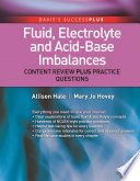 Fluid  Electrolyte  and Acid Base Imbalances
