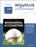 Managerial Accounting, 3rd Edition Binder Ready Version