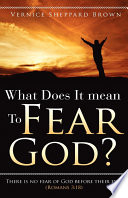 What Does It Mean to Fear God