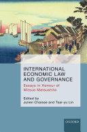 International Economic Law and Governance