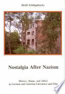 Nostalgia After Nazism