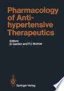 Pharmacology of Antihypertensive Therapeutics