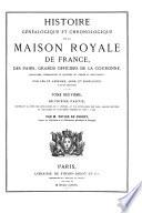 Histoire de la Maison royale de France