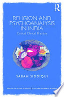 Religion and Psychoanalysis in India