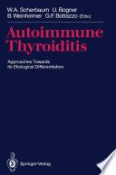 Autoimmune Thyroiditis book