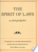 download ebook the spirit of laws pdf epub