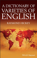 download ebook a dictionary of varieties of english pdf epub
