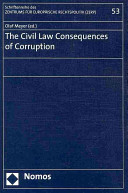 The Civil Law Consequences of Corruption
