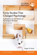 Forty Studies That Changed Psychology Global Edition