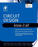 Circuit Design  Know It All