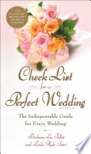 Check List for a Perfect Wedding  6th Edition