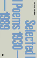 Selected Poems 1930-1989 Himself In The Little Reviews Of 1930s