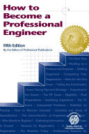 How to Become a Professional Engineer