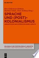 Sprache und (Post)Kolonialismus