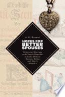 Hopes for Better Spouses